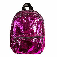 Sequin Mini Back Pack - Pink
