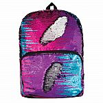 Magic Sequin Backpack - Multi/Silver