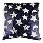 Magic Sequin Pillow-Star & Moon