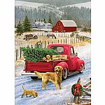 1000pc Christmas on the Farm