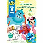 My First Crayola Colour & Shapes Sticker Activity Book