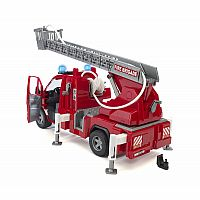 Bruder MB Sprinter Fire Engine with Ladder, Water Pump, and Light/Sound
