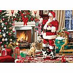 300pc XL Santa's Best Friend
