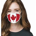 Adult - Oh Canada! Mask