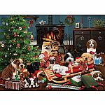 500pc Christmas Puppies C.H