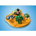 9119 Playmobil 123 Pirate Island