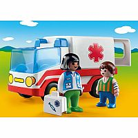 9122 Playmobil 123 Rescue Ambulance