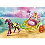 9136 - Unicorn-Drawn Fairy Carriage