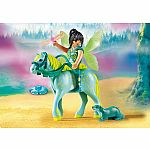 9137 - Enchanted Fairy with Horse
