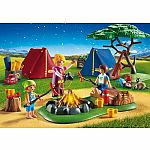 9153 - Camp Site with Fire