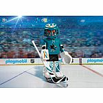 9197 - NHL San Jose Sharks Goalie