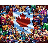 Animals of Canada 1000pc Puzzle