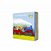 Green Toys Counting, Sounds, Abcs Board Books (3 Pack)
