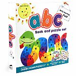 Bath Book & Puzzle Set: ABC