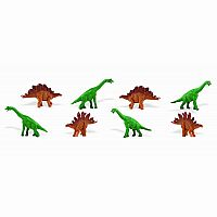 Good Luck Mini Stegosaurus/Brachiosaurus