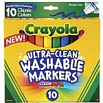 Ultra Clean Washable Markers 10pk