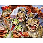 100pc 3D Rap Party Dino Puzzle