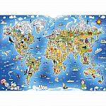 250pc Jigmap - Our World