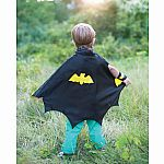 Bat Cape Set with mask and wristbands, Sm
