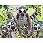 100pc 3D Kids Lemur Puzzle