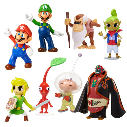 World Of Nintendo Figurine 2 5 Quot The Granville Island Toy
