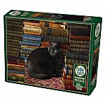 1000pc Library Cat
