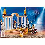 PLAYMOBIL:THE MOVIE Emperor Maximus in the Colosseum