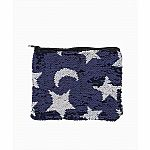 Magic Sequin Star Moon Pouch