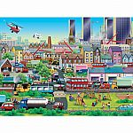 Busy Neighborhood 60pc Puzzle