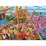 Pirate Boat Adventure 100pc Puzzle