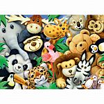 Softies Plush Aimals 35pc Puzzle
