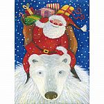 Trefl 100pc Santa Claus' Ride