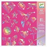 Scratch Cards: Shimmering Diamond Stickers