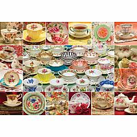 2000pc Teacup Collection