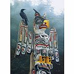 1000pc Cobble Hill: Totem Pole in the Mist