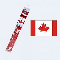 Plus-Plus Tube: Canada Flag