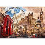 1500pc Clem. Vintage London