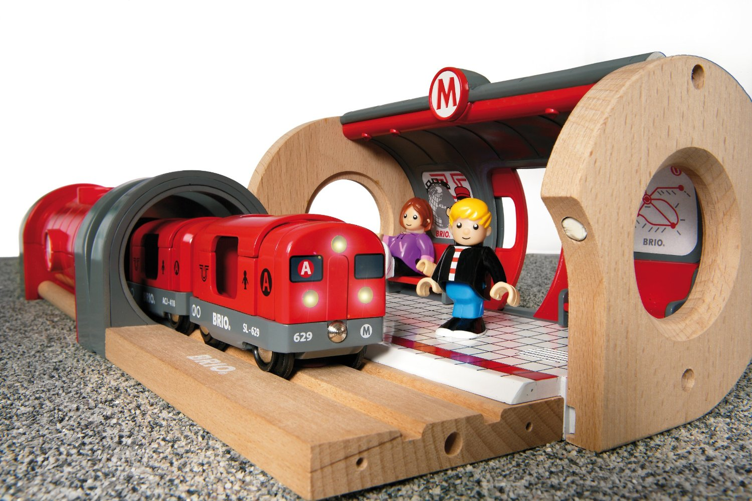 Brio Metro Railway Set - The Granville Island Toy Company