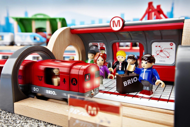 Brio Metro Railway Set The Granville Island Toy Company