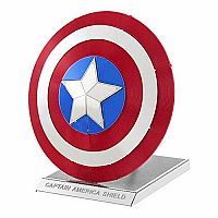 Metal Earth 3-D Captain America Shield