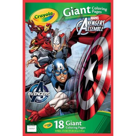 Crayola Giant Colour Book Avengers - The Granville Island Toy Company