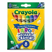 Crayola My 1st Washable Crayons Lrg