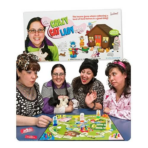 .Crazy Cat Lady Board Game - The Granville Island Toy Company