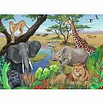 60pc Safari Animals