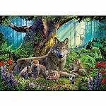 1000pc Wolves in the Forest