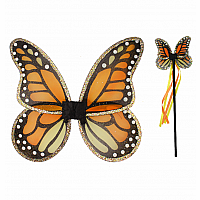 Monarch Wings & Wand Set