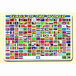 Painless Learning Flags of the World Placemat