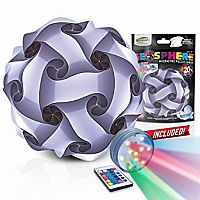 "12"" Geosphere Puzzle Lamp Kit - 30pc White"