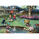 1000pc Trefl Pauline Paquin Golf Game