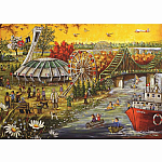 1000pc Trefl Happy BDay Montreal